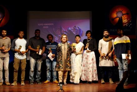 Toto Award for Srishti Student